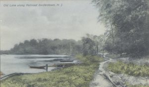 old Lake Along Railroad, Bordentown, NJ